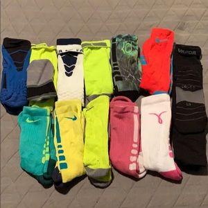 Nike Elite and Vapor Socks